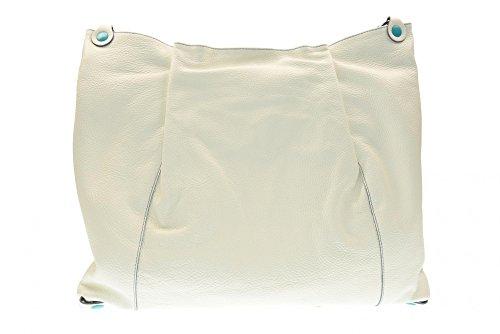 GABS Sac à main femme Larka-E17 PLAT DODO TRANS. DOLLAR DAV / DT 1000 L 1000 Bianco