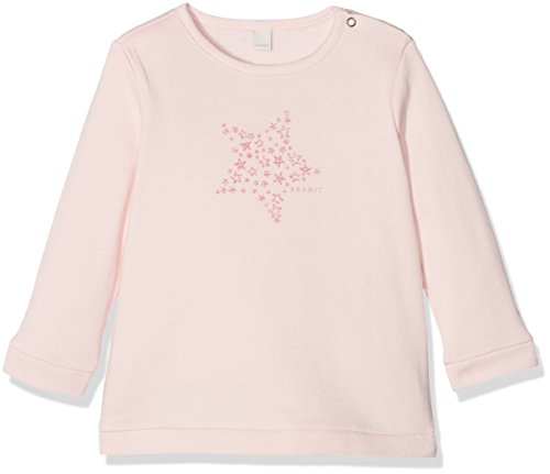 ESPRIT Kids Baby-Mädchen Sweatshirt RK15041, Rosa (Rose 330), 92
