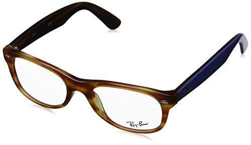 Ray-Ban Unisex-Erwachsene 0RX5184 Brillengestelle, Braun (Light Brown Havana), 50