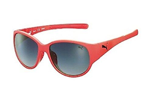 Puma Damen Sonnenbrille in Trendfarbe Ultraleicht mit maximalem 400 er UV Schutz