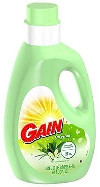 GAIN Gain Liquid Fabric Softener Original 64 Ounce by GAIN