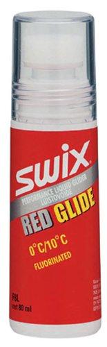 SWIX, Skiwachs, fluoriertes Flüssigwachs, 0 Grad bis +10 Grad, F8L, Glide Rot -