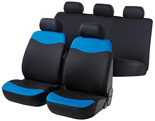 rmg-distribuzione Coprisedili Fodere R23 Nero Blu per UP Copri sedili Auto Anteriori e Posteriori