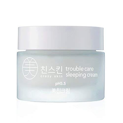 Crazy piel Corea-Trouble atención dormir crema