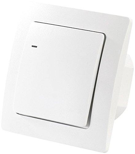 CASAcontrol Kabelloser Lichtschalter: Funk-Lichtschalter für innen und außen (Kabellose Schalter)