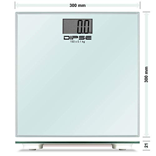 Display LCD Bilancia digitale per pacchetti Supporto Funzionamento a batteria possibile. 50 g /– 300 kg