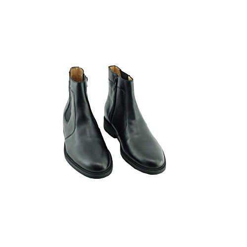 Bottines Homme Noir Ville Confort - Norwich - Chauss Marques ® C-Noir