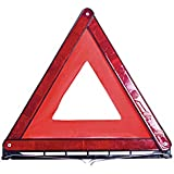 Latskrap Warning Triangle Euro with Storage Case ECE Certified to Safeguard Accident and Hazard Areas