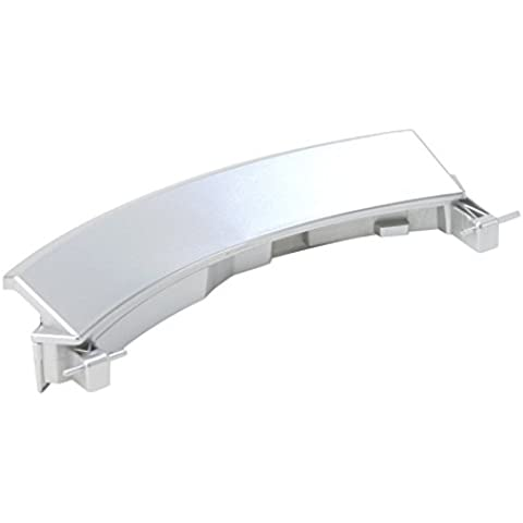 DREHFLEX®–Para Lavadora/waschvoll automática manija de puerta/Mango/Ventana mango para varios dispositivos de Bosch/Siemens/Constructa–Apto para piezas de nº 00751783/751783Plata/Aluminio Dorado. Incluye