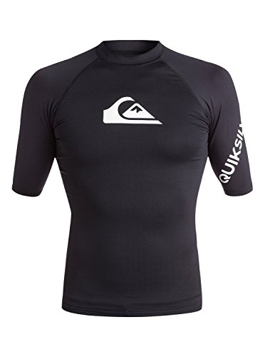 Quiksilver All Time-Lycra Manches Courtes UPF 50 pour Homm