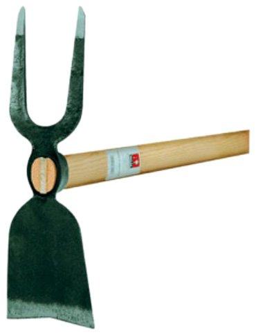 Ideal 66730201 Gartenhacke 2 Zinken breit mit Eschenstiel 135 cm