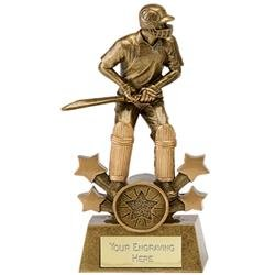 Star Explosion Cricket Batsman (N) Cricket Trophy Award
