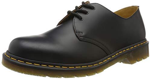 Dr. Martens 1461Z - Zapatos de Cordones de Cuero Unisexo, Negro, 44 EU