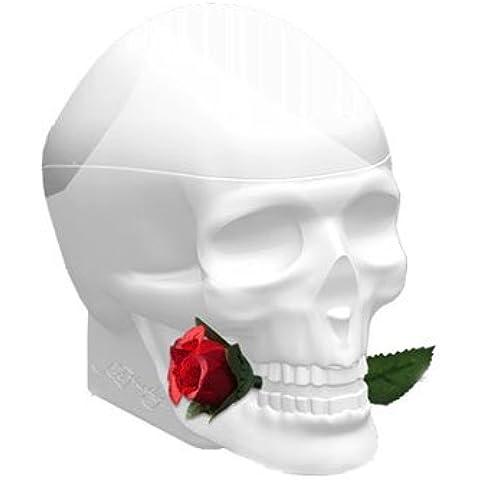 Ed Hardy Skulls & Roses For Her for Women Gift Set - 3.4 oz EDP Spray + 4.2 oz Body Lotion + 4.2 oz Shower Gel + 0.25 oz EDP Spray by Ed Hardy
