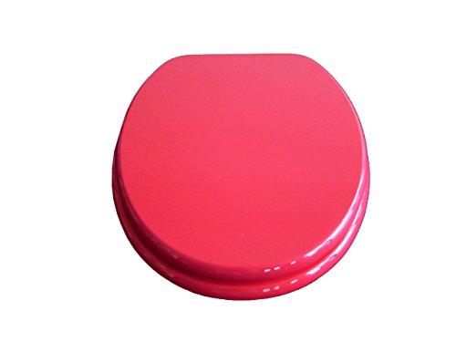 ADOB WC Sitz Klobrille Fresh mit Absenkautomatik, rot, 85631