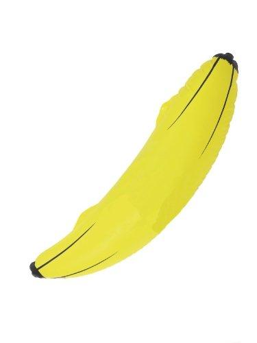 Smiffys aufblasbare Banane 68cm lang Pool Party Deko Karneval Fasching Zubehör zum - Smiffys Banane Kostüm