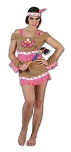 Perkins-Humatt 51098 - Disfraz de india para mujer