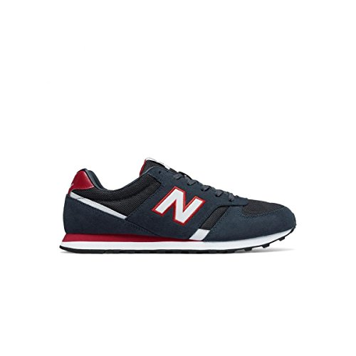 New Balance , Baskets pour homme JR - NAVY RED