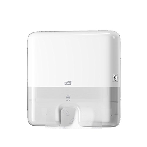 Tork 552100 - Dispensador de toallas de mano entreplegadas, color blanco