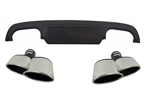 Preisvergleich Produktbild KITT rdmbw221Stoßstange hinten Diffusor Auspuff Schalldämpfer Tipps