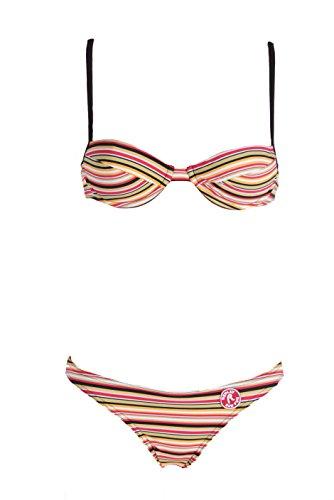 Fashy Damen Bikini mit Formbügel verstellbare Träger C und D-Cup Badeanzug Set