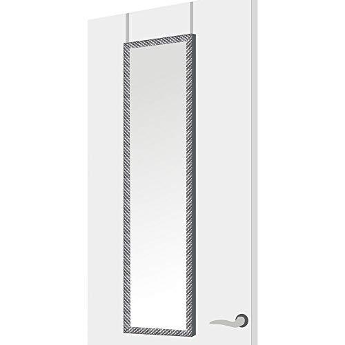 Espejo Puerta Moderno Plateado plástico Dormitorio