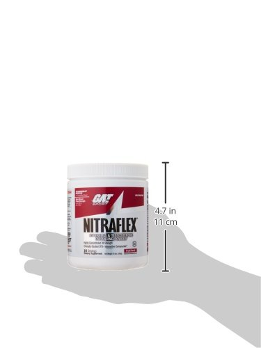 Deutsch-Amerikanischen Technologien nitraflex Fruit Punch Pre Workout Pulver 300 g