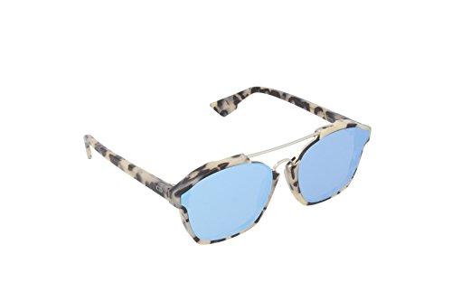 Christian Dior Damen Sonnenbrille Diorabstract A4, Schwarz (Havana A4e), 58 (Christian Dior Sonnenbrille Havana)