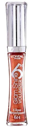 L'Oréal Paris Glam Shine 6H Volumizer Lipgloss, 403 papaya tatoo