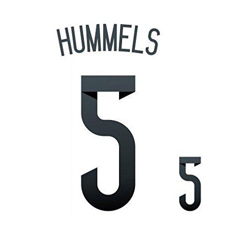DFB Deutschland Hummels Flock für adidas Home Trikot WM 2014 Quali EM 2016