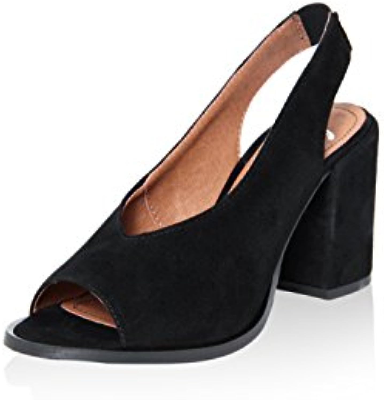 Gusto 8728_Rov_Nero - Schuhe Sandalen Schwarz 2018 Letztes Modell  Mode Schuhe Billig Online-Verkauf