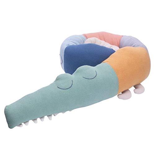 Kalavika Almohadas Embarazada Dormir y Cojín Lactancia Bebé Protector de cama cojín de cuna 185cm...