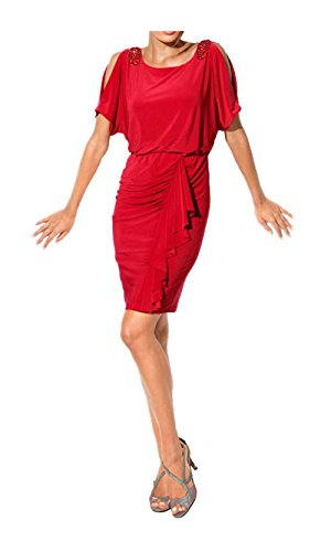Heine - Robe - Opaque - Femme Rouge Rouge Medium Rouge - Rouge