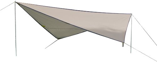 High Peak Sonnensegel Tarp 1, stein, 10030