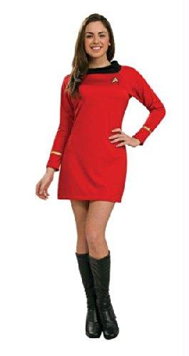 Star Trek Classic Red Dress Sm (Star Trek Classic Red Kostüme)