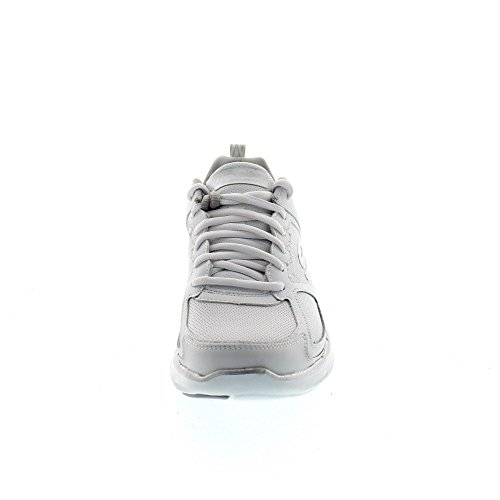 Skechers Flex Appeal 2.0-Good Time, Formatori Donna Bianco (White/silver)