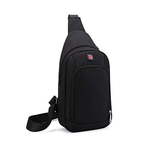 Imagen de spaher  deportiva sling hombro al aire libre del recorrido del de ocasional daypack de los hombres del cuerpo pecho  bolsos cruz satchel bag para viajar camping trekking gimnasio ciclismo