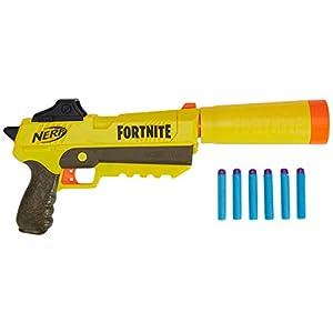 Hasbro Nerf Fortnite SP-L, Blaster Ufficiale con 6 Dardi, Colore Giallo, E6717EU4 1 spesavip