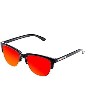 Hawkers Classic Diamond Black Ruby, Gafas de Sol Unisex, Negro/Rojo