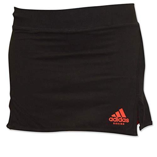 Adidas gonna nera con logo rosso xs