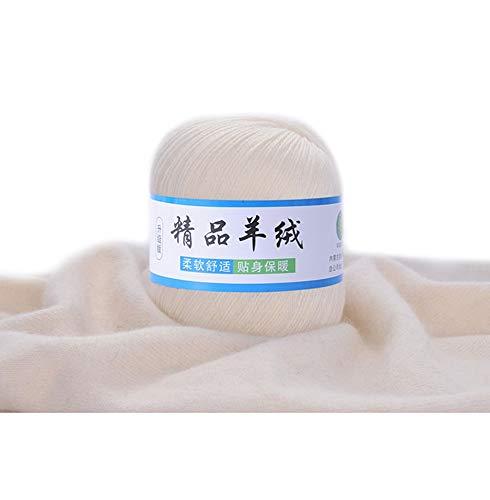 Exing Weiche Kaschmir Strickwolle Garn DIY Baby Warm Schal Schal Hut Häkeln Thread Zubehör (1) -