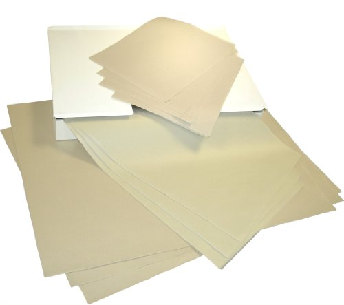 Wachspapier in verschiedenen Formaten, 12,5 kg ! (1/8 Bogen (25x37 cm))