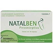 ITALFARMACO NATALBEN PRECONCEPTIVO DE 30 CAPSULAS CON ZIN