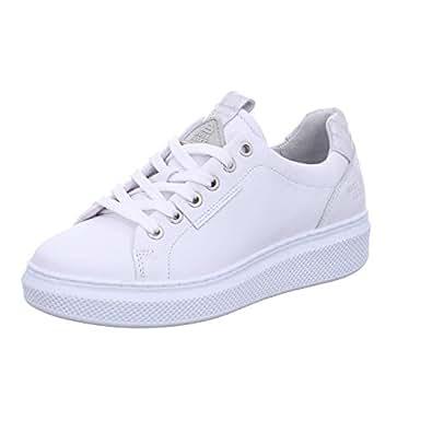 BULLBOXER Damen Sneaker 807006E5L WHIT weiß 600199: Amazon