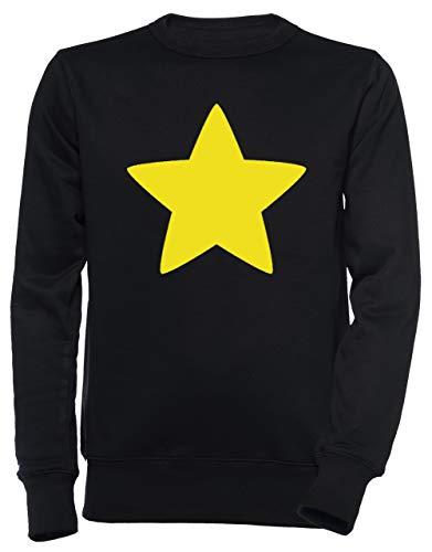 r Unisex Herren Damen Jumper Sweatshirt Pullover Schwarz Größe S Men's Women's Jumper Black T-Shirt Small Size S ()