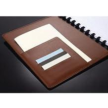 Spiralbuch ARC Leder befüllbar braun DIN A4 60 Blatt