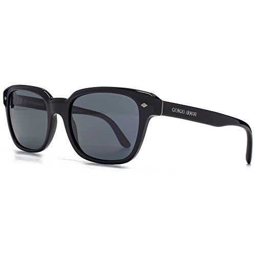 Giorgio Armani Montures de lunettes de soleil vie classique carré en noir  AR8067 5017R5 53 53 8e3792ff7d57