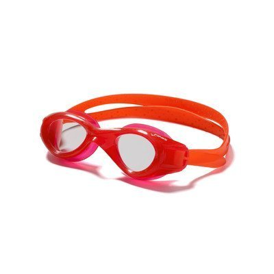 Finis Kinder Schwimmbrille Nitro Swim, Blau, Rot/klar