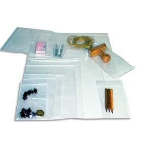 Emballage Agripp Sachet de 100 sacs pression translucide avec fermeture flexigrip 12x18 cm