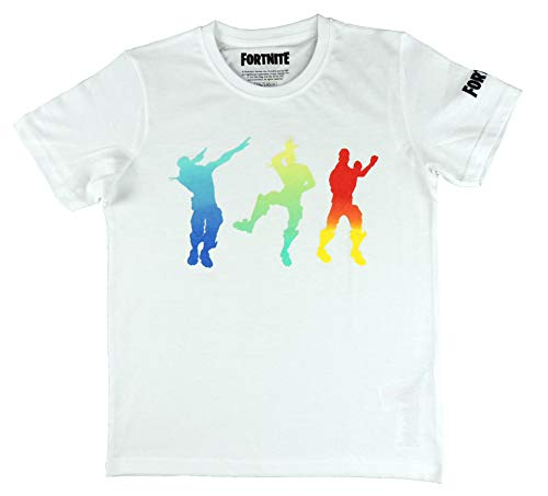 Epic Games Camiseta Fortnite Dancing White - Camiseta Fortnite Manga C